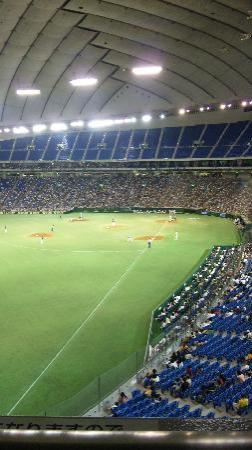Tokyo Dome: プレミアムシートから