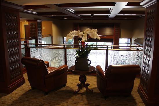 West Inn & Suites Carlsbad: Over looking lobby