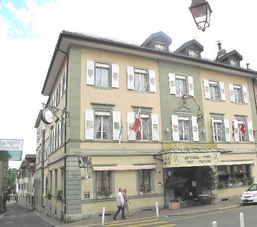 Auberge Du Raisin: ホテルの外観