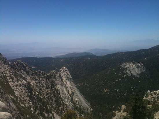 Idyllwild, Kalifornie: View from the PCT