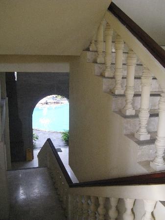 Hotel Kumala Pantai: S Block Stairwell at KP