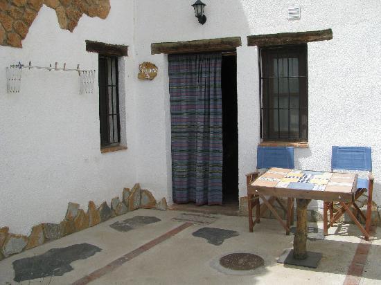 Cuevas Hammam Abuelo Jose: terrasse