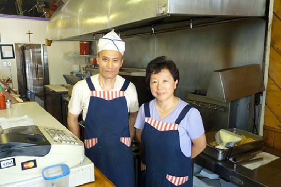 Hoagy Steak: Owners John and Grace Im, San Leandro's cheese steak ambassadors.