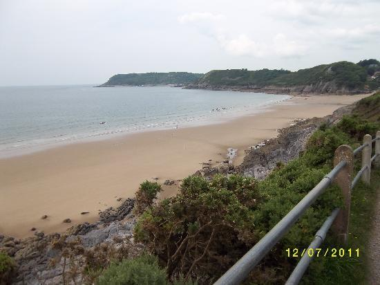 Langland Bay: Cliff Path Caswell Bay