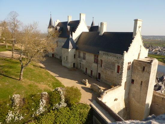 L'Etape en Chinonais: Schloss von Chinon