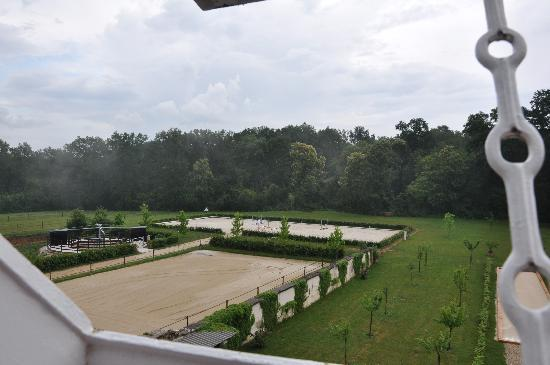 Chateau de la Resle: View from the window