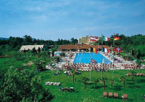 Petrarca Hotel Terme: panorama