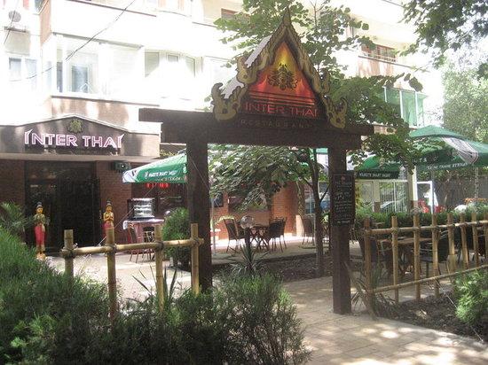 Inter Thai Restaurant : Terrace