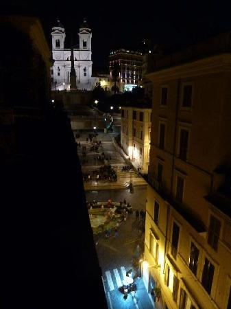 ‪‪The View At The Spanish Steps - Small Luxury Hotel‬: テラスからの眺め‬