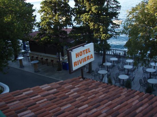 Hotel Riviera: Balcony view