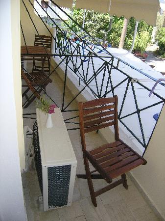 Vassiliki Bay Hotel: balcony