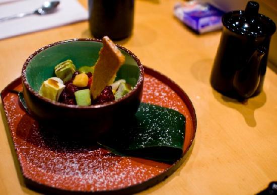 Shiranui: dessert