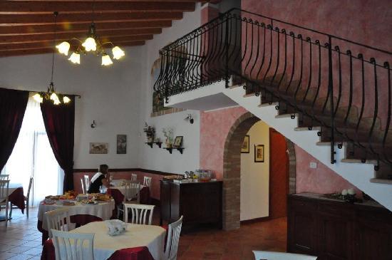 Agriturismo San Salvar: Salle à manger