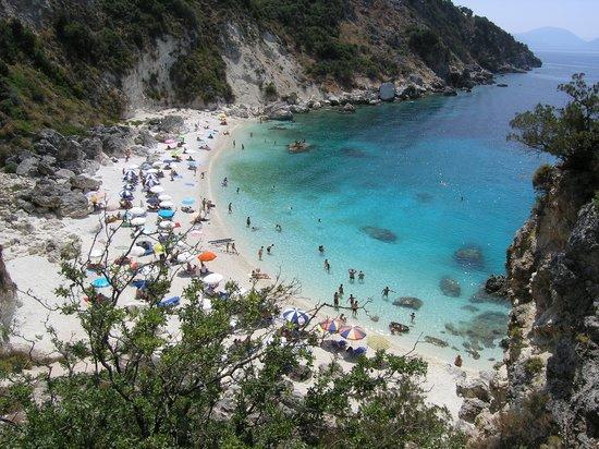เลฟกาดา, กรีซ: agiofili beach, lefkada