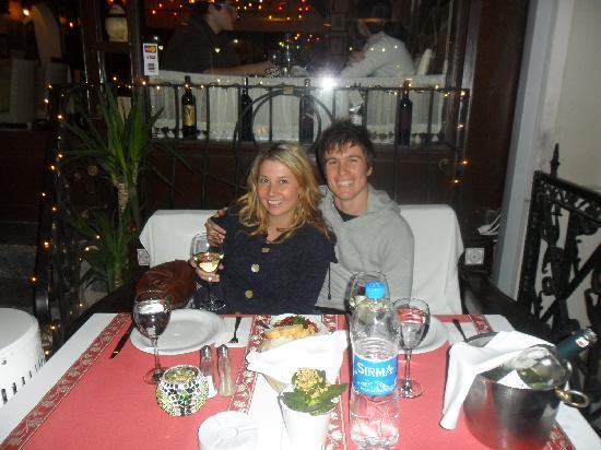 Antique Turquoise Restaurant : Dinner!