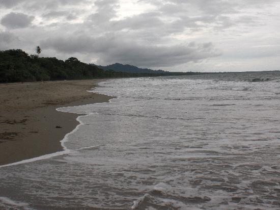Hotel Rustico de Playa Perla Negra: Playa Negra