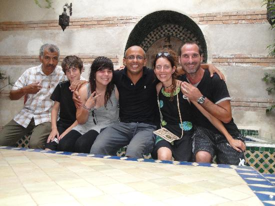Riad Dar Nimbus: petit clin d'oeil à Karim