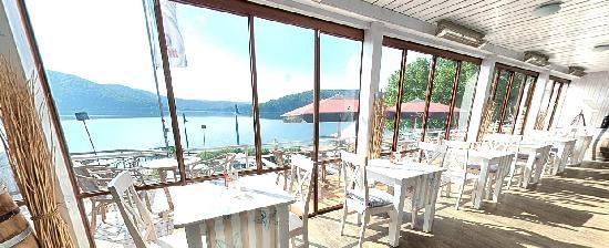 Strandhaus No. 12: Blick ins Café