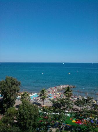 Andora, Italien: Blick aus dem Hotelzimmer