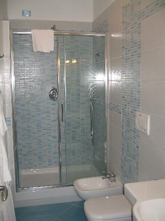Sorrento Flats: Excellent shower.