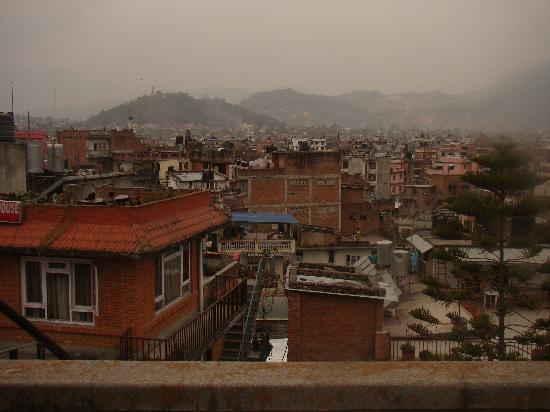 Kathmandu Peace Guest House: view from the roof