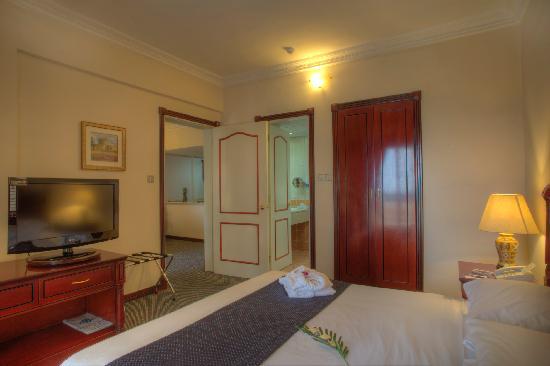 Al Diar Mina Hotel : Suite Bed Room