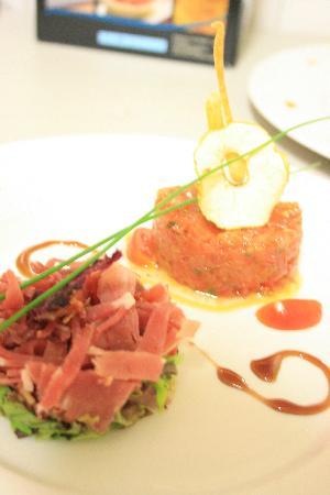 Hotel Restaurant Galland : Un Plat