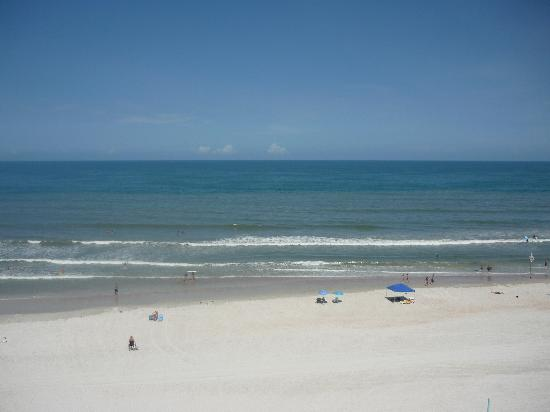 Tropic Sun Towers Condominium: our view from our 7th floor balcony