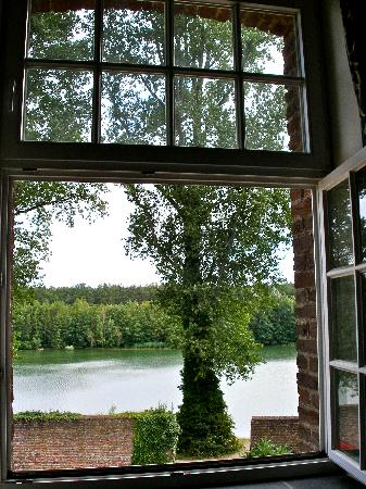 Kloster Graefenthal: View from bedroom window