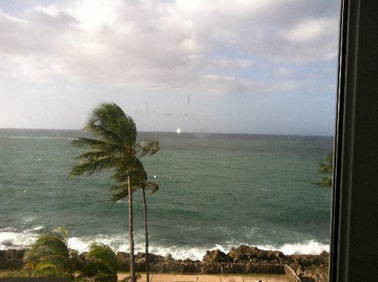 The Condado Plaza Hilton: View from my balcaony