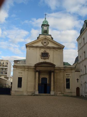 Cimetière de Picpus : la cappella all'entrata