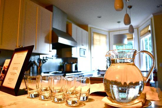 The Chanric Inn : kitchen