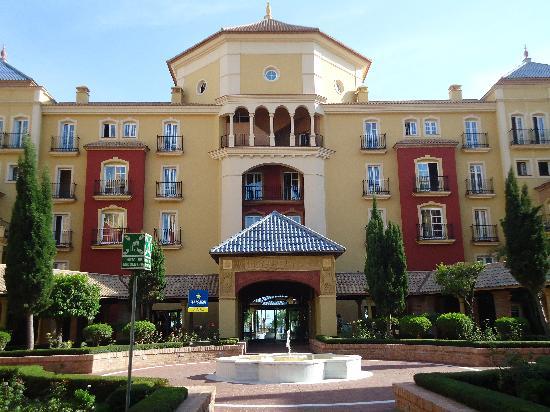 Iberostar Malaga Playa: Arrivée à l'hôtel