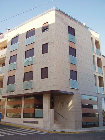 Foz, Espagne : Fachada Hotel