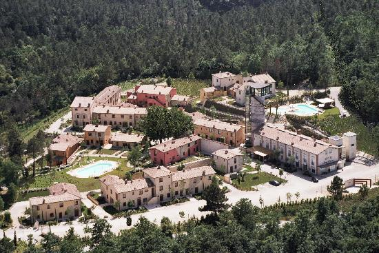 Borgo la Fornace: foto aerea