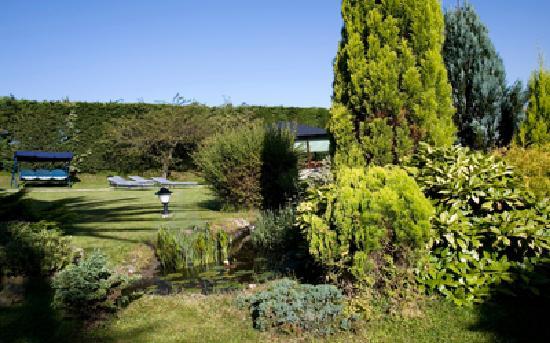 Hosteria Los Sauces: Jardín