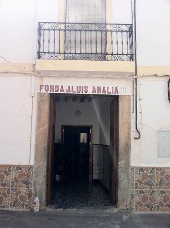 Dalias, Spain: la entrada