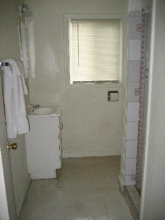Dahl's Motel: Bathroom