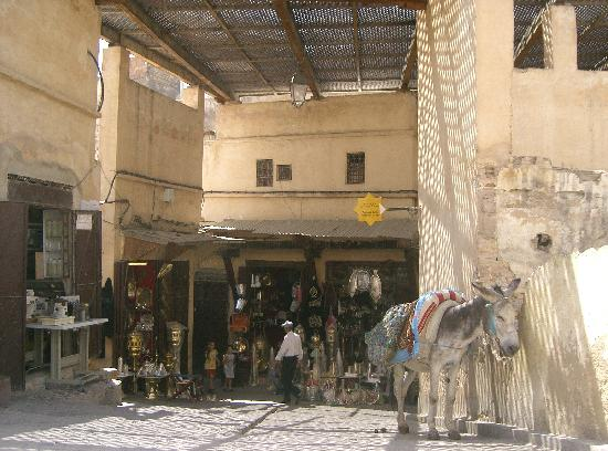 Fes, Morocco: calle