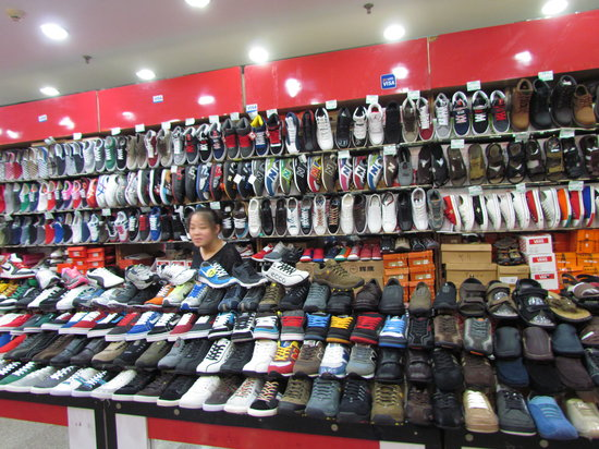 Pearl Market (Hongqiao Market) : Shoes for 135 RMB