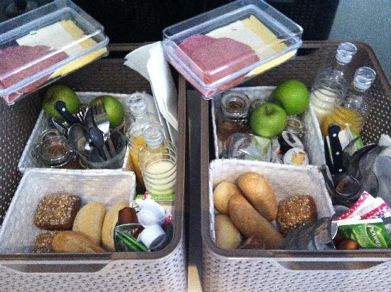 Houseboat Little Amstel: Delicious breakfast