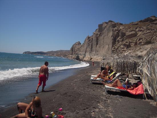 Perivolos, Grecja: Eros Beach Santorini Grecia