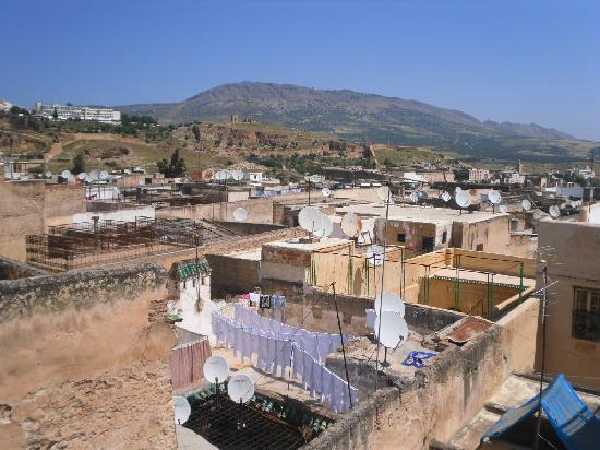 Riad Boujloud: De la terrasse