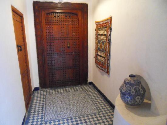 Riad Boujloud: L'entrée