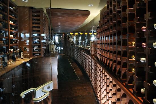 Brasa Brazilian Steakhouse: Inside Brasa's Wine Room