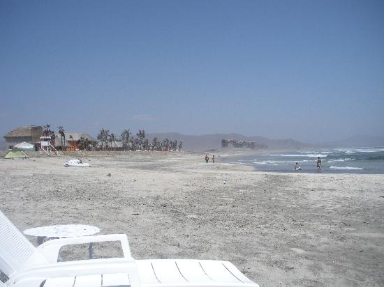 Cerritos Surf Colony: View of the Surf Colony in the distance.