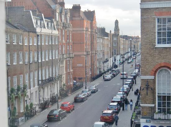 Park Plaza Sherlock Holmes London View From Hotel Window