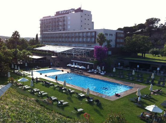 Gran Hotel Monterrey: Foto desde la parte más elevada del hotel