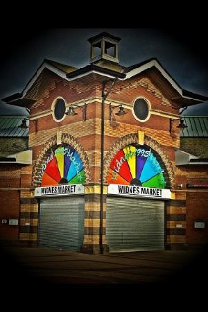 widnes market all shut up on a sunday