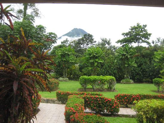 Hotel Villas Vilma: View from the porch